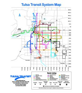 Maps And Schedules Maps & Schedules : Tulsa Transit