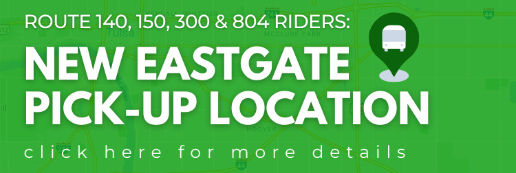 NEW Eastgate Pick-Up Location